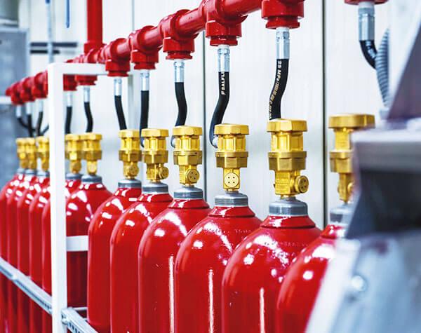 extintores para prevención de incendios
