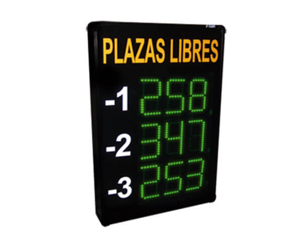 sistemas de plazas libres en parking