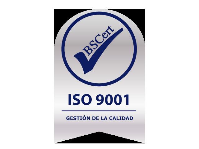 Sello ISO 9001 - BSCert