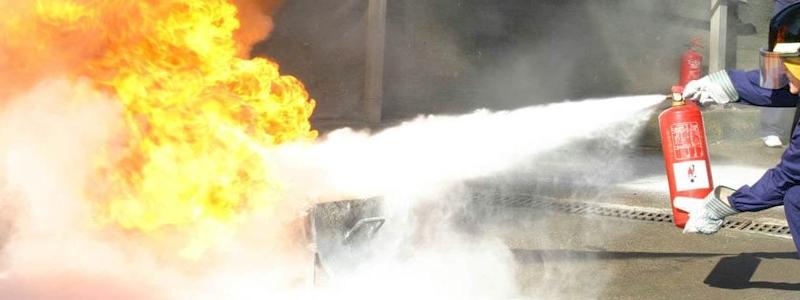 Cómo funciona un extintor